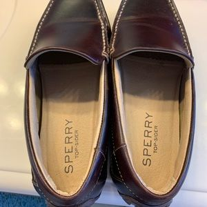 Men's Sperry loafer.